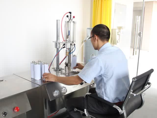 Oxygen Gas Fresh Air Aerosol Spray Can Filling Machine