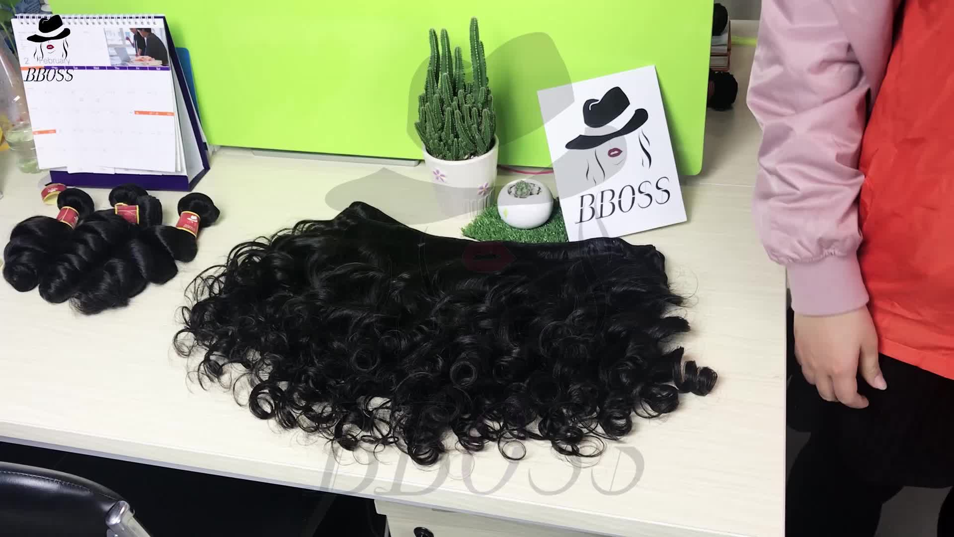 Cheap hair weave brazilian human microring hair extension,permanent hair hairpieces,raw indian curly hair unprocessed virgin