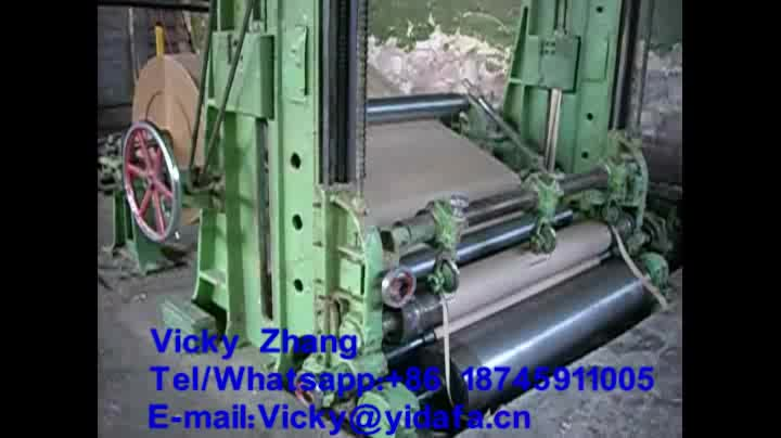 Pulp Line Price Kraft Carton Roll Cardboard Waste Recycle Corrugated Making Paper Production Machinery