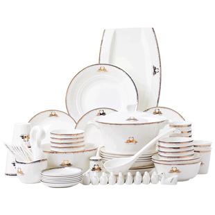 骨瓷餐具勺自由组合搭配diy陶瓷碗