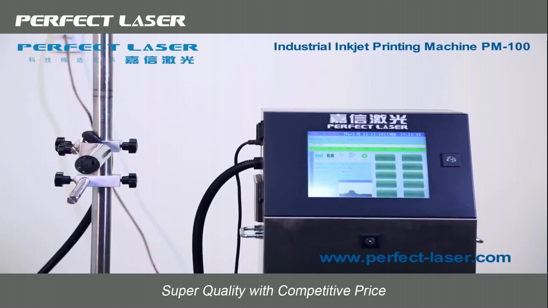 Industrial Expire Date Printer Bar Code Batch Number Printing Machine for Packaging