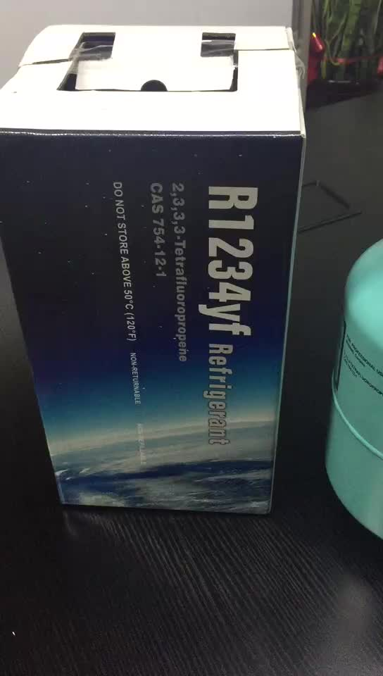 Hot Sale Refrigerant R1234yf high quality gas for car A/C