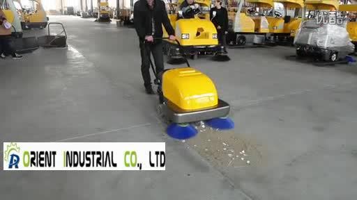 Chinese Cheapest Hand Push Vacuum Road Sweeper With CE Certificate