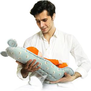 迪士尼抱孩子喂奶防吐奶安抚哺乳枕