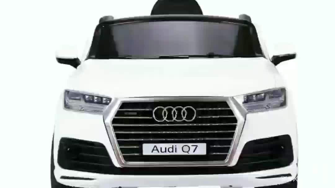 WDJJ2188Official Authorized Audi Q7 New Electric Bike For Kids, With Mp3 Wheel Suspention Music And Light Double Door Open