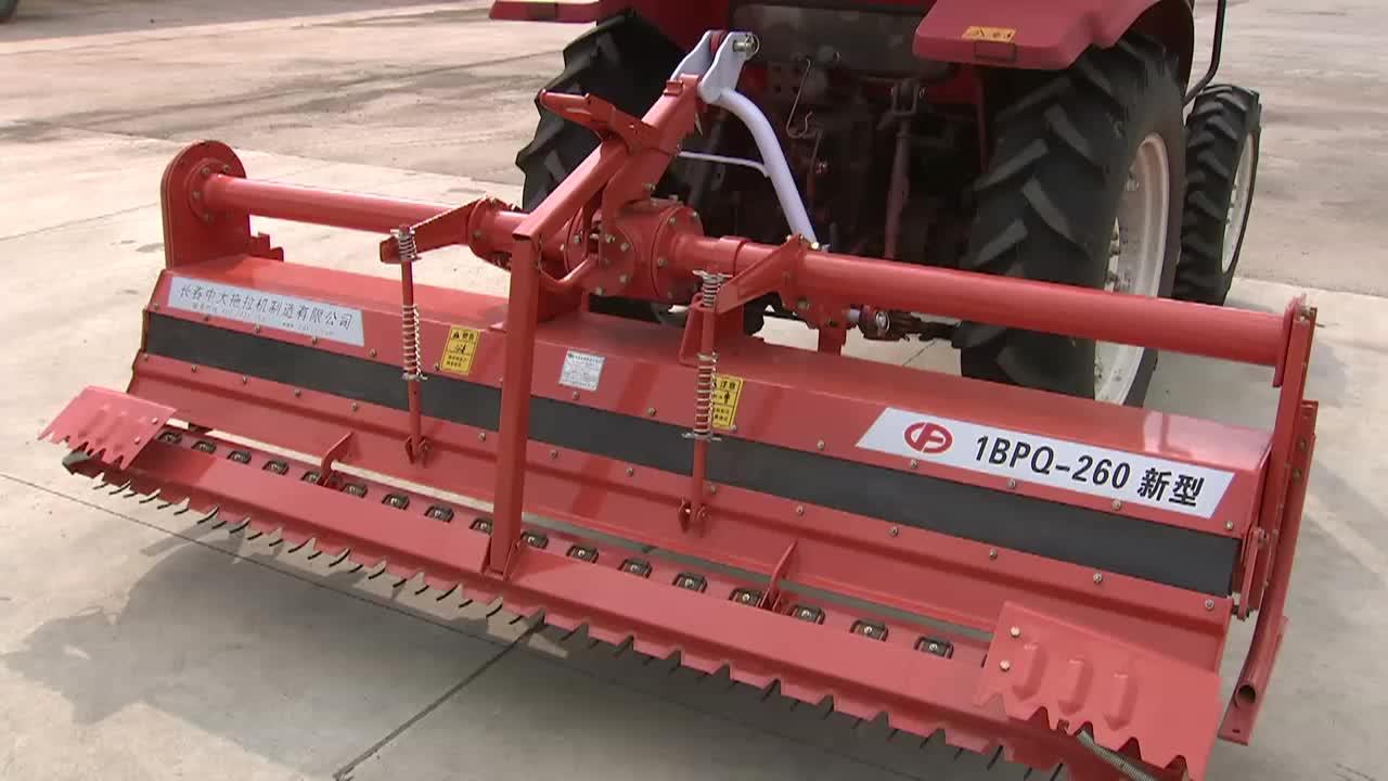 Çiftlik traktör çeltik hidrolik döner tiller ile orta fiyat