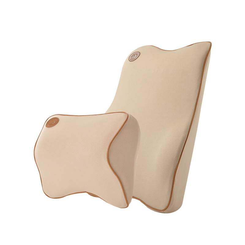 泰国天然乳胶腰垫汽车通用头枕宝马奔驰奥迪座椅腰枕进口车用腰靠