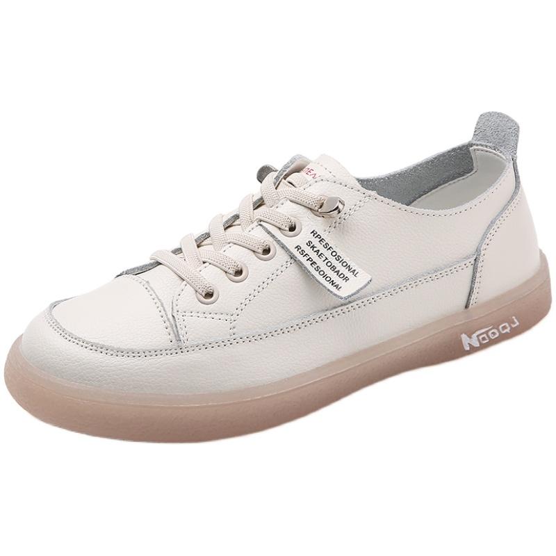 真皮小白鞋2021新款春季休闲单鞋质量怎么样