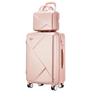 行李箱女ins网红小型20寸旅行拉杆箱密码皮箱子新款结实耐用加厚