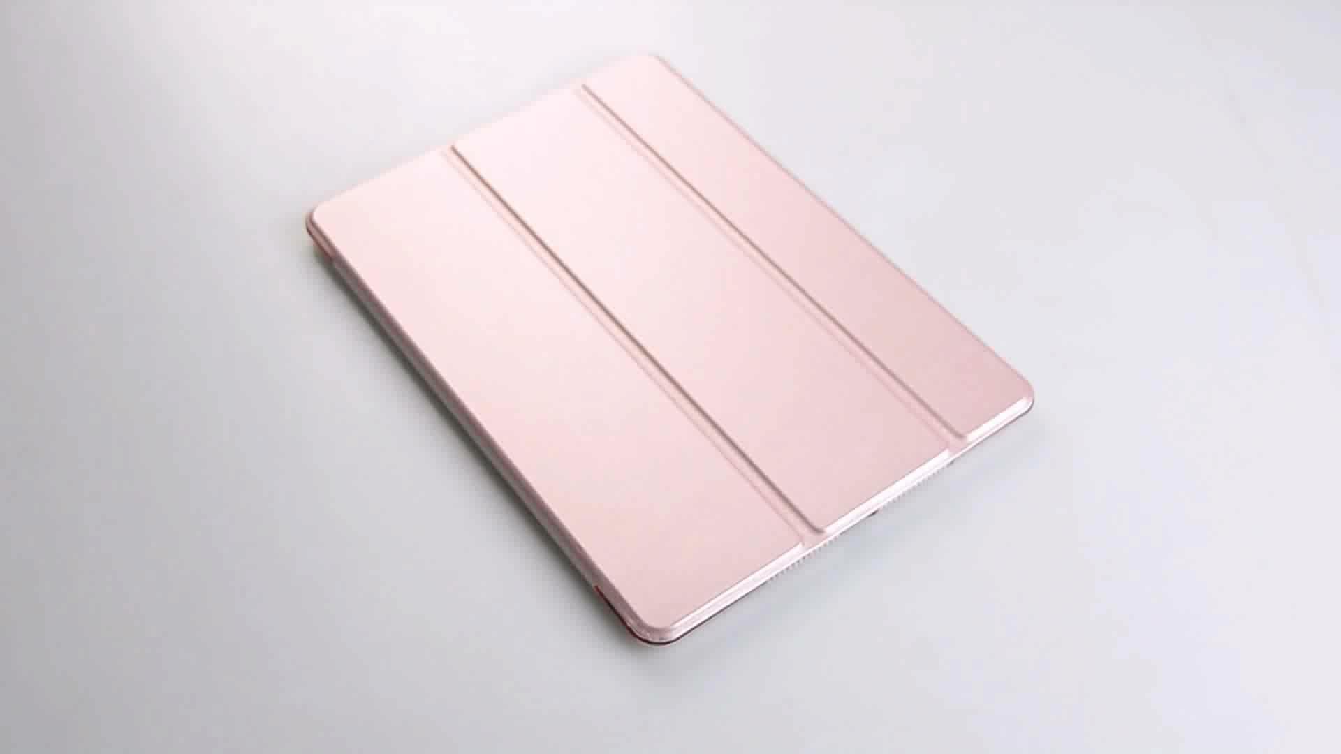 Yeni Ürün 12.9 inç Standı PU Deri Tablet Kapak Kılıf geri sert kapak ipad kılıfı pro