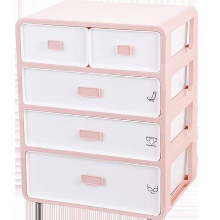 内衣抽屉式衣柜家用三件套收纳盒