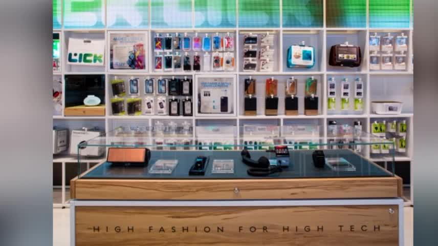 China High End Computer Shop Design Laptop Interior Store Display ...