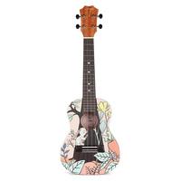 【欧阳娜娜同款】TOM尤克里里桃花心木单板23寸初学者女ukulele