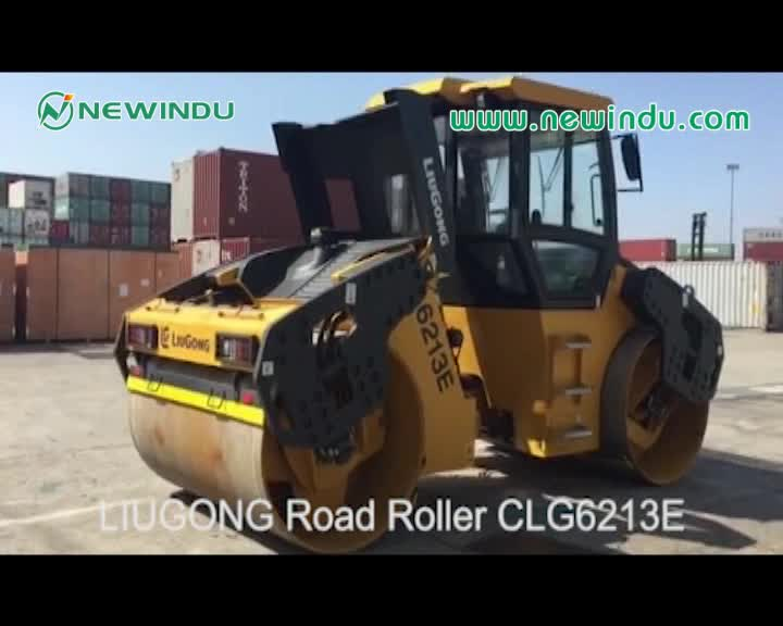 Liugong 26 ton Pneumatic tire road roller CLG626RII