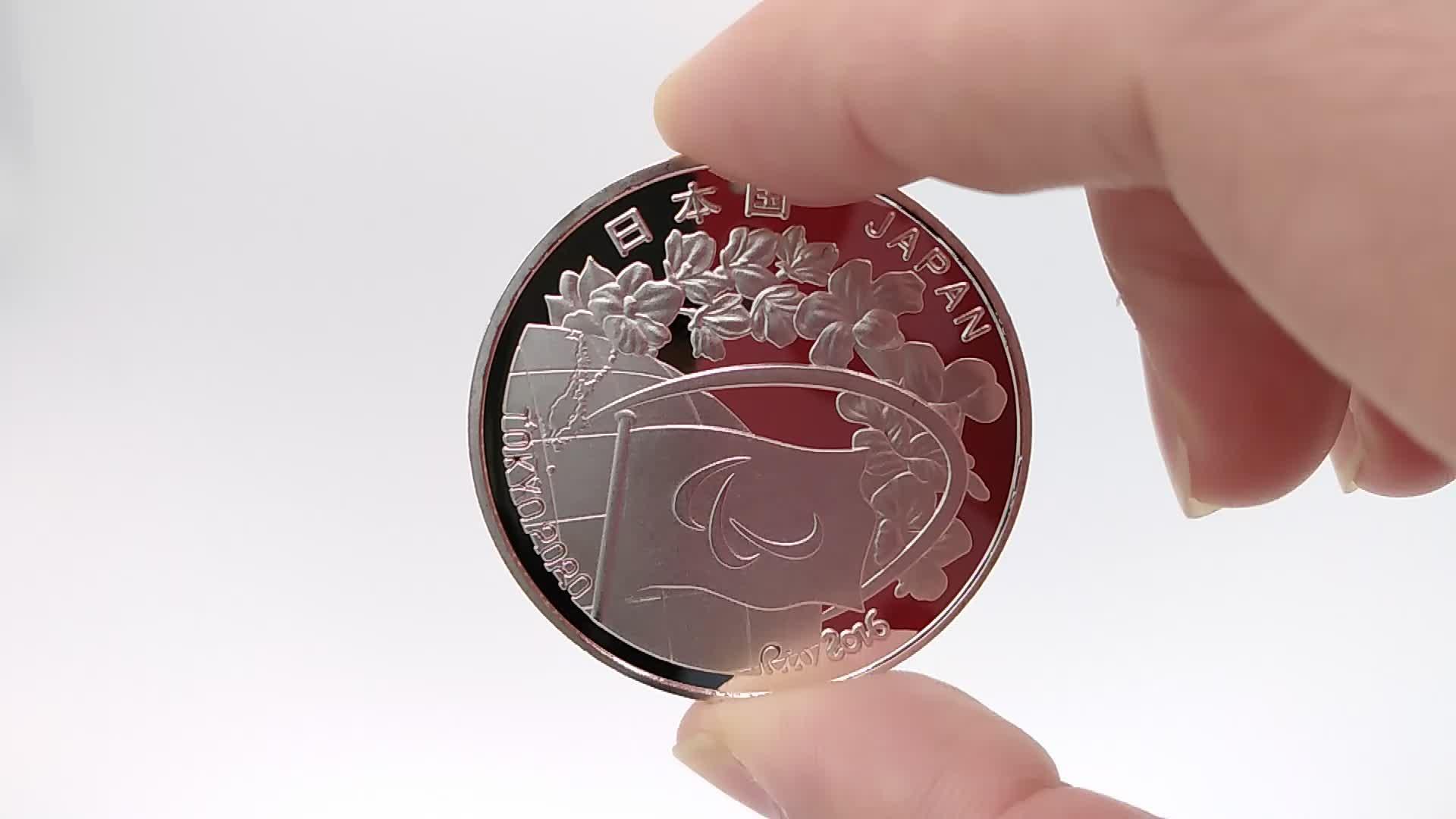 Custom 3d U.S Kennedy anniversary silver coin eagle souvenir coin