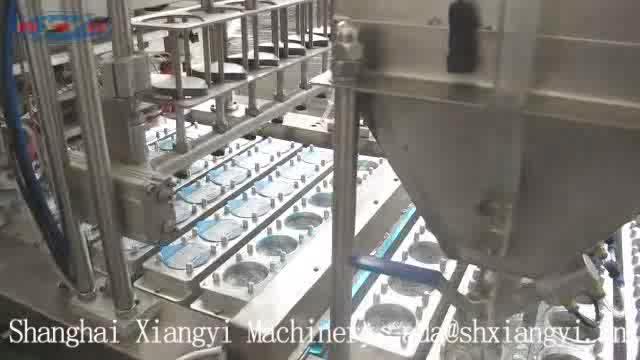 Di acqua di plastica tazza di riempimento di tenuta della macchina/automatico tazza di acqua macchina imballatrice