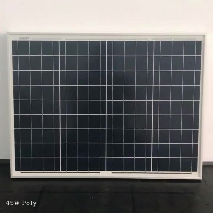 12v 45w 50w solar panel solar panel wholesale with controller