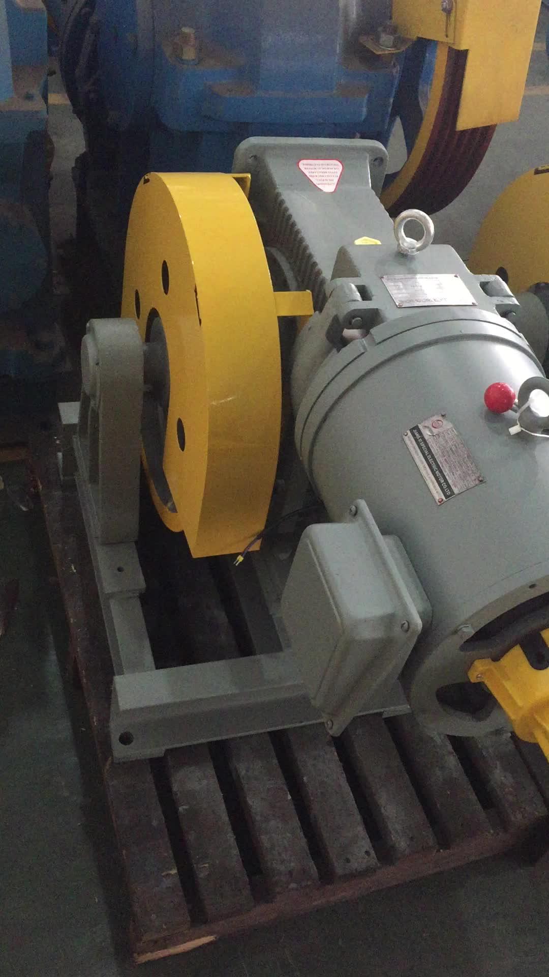 VVVF Residentical Elevator Gear Traction Machine Motor