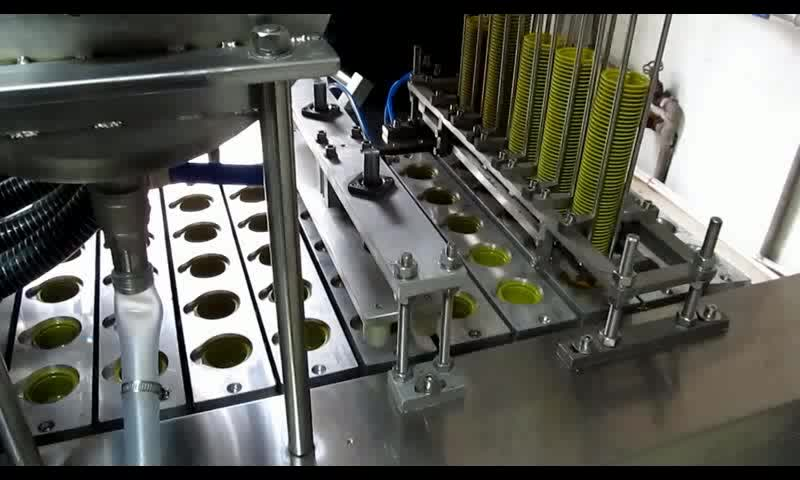 Newest most popular honey cup filling sealing machine