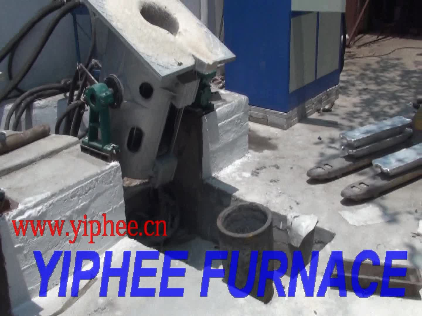 Intermediate Frequency Induction Melting Furnace / Manufacturer Induction Electric Furnace for sale