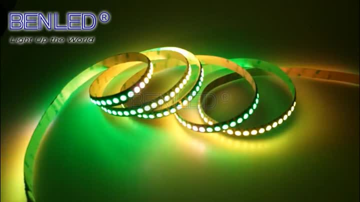 5050 smd 30 60 144 addressable flex bendable rgb rgbw magic sk6812 led strip
