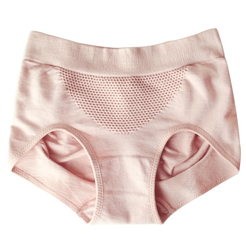 黄小姐产后收腹内裤女高腰束腰莫代尔提臀内裤女士中腰塑形翘臀裤