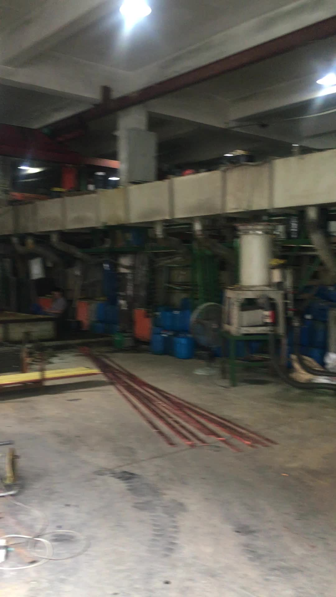 25mm Tembaga claded baja pita listrik bawah tanah