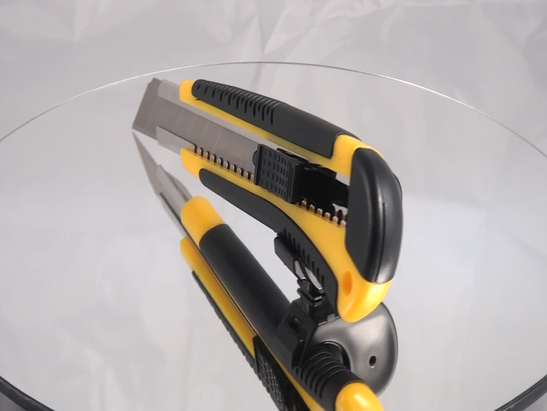 ABS cep otomatik kilit geri çekilebilir 18mm snap maket bıçağı plastik bıçak