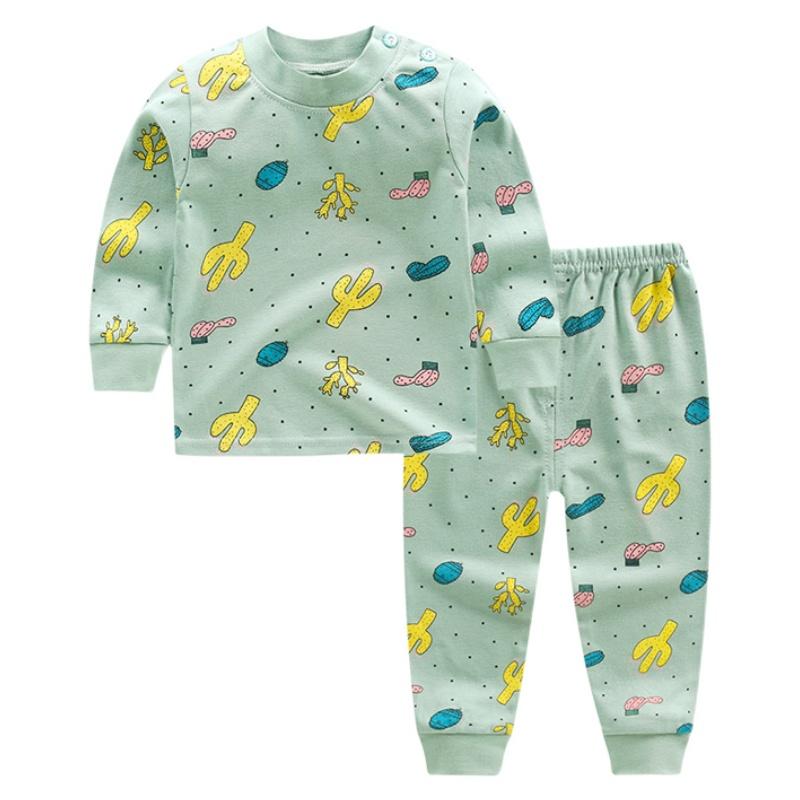 儿童纯棉内衣套装宝宝秋衣秋裤婴儿保暖内衣男女童睡衣小孩衣服冬