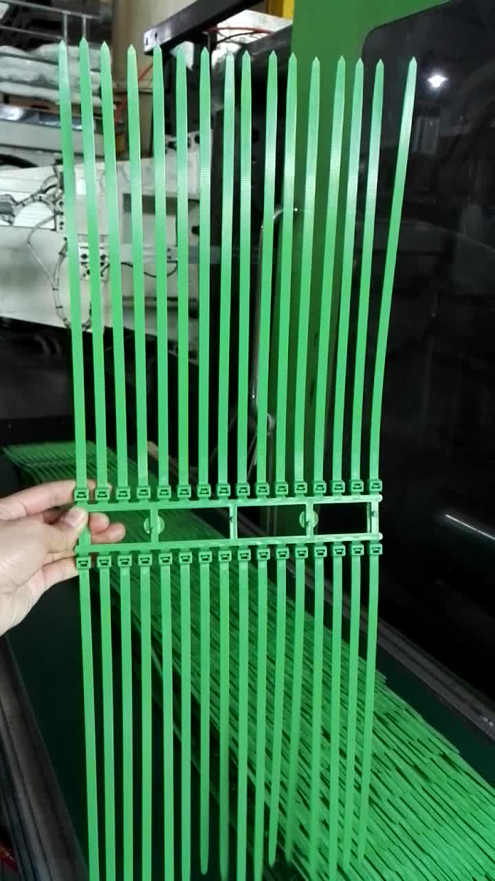 Factory Fireproof Fire Retardant Green Cable Tie