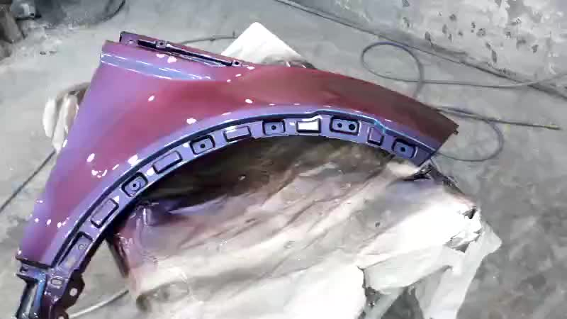 Liquid coating state fast drying solvent automotive paint