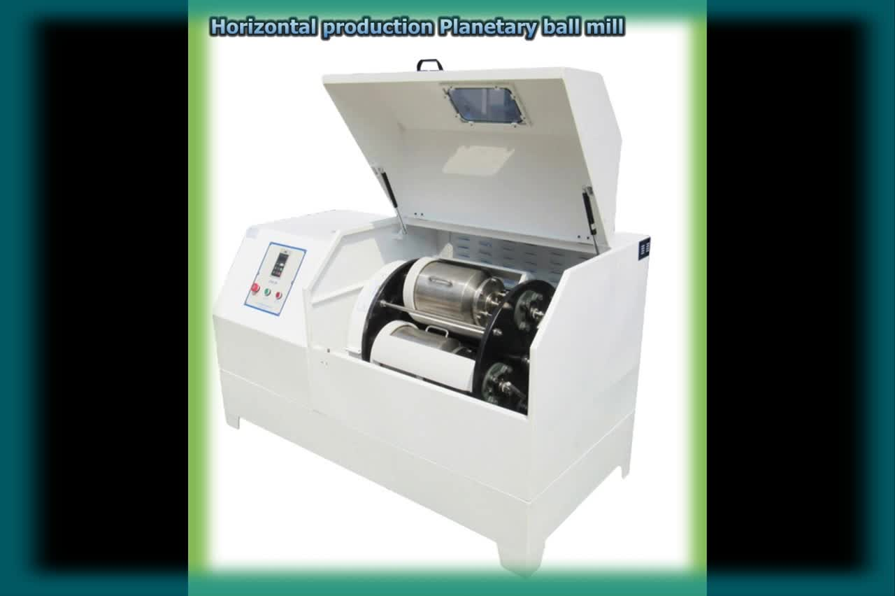 Supplier of automatic grinding planetary laboratory ball mill