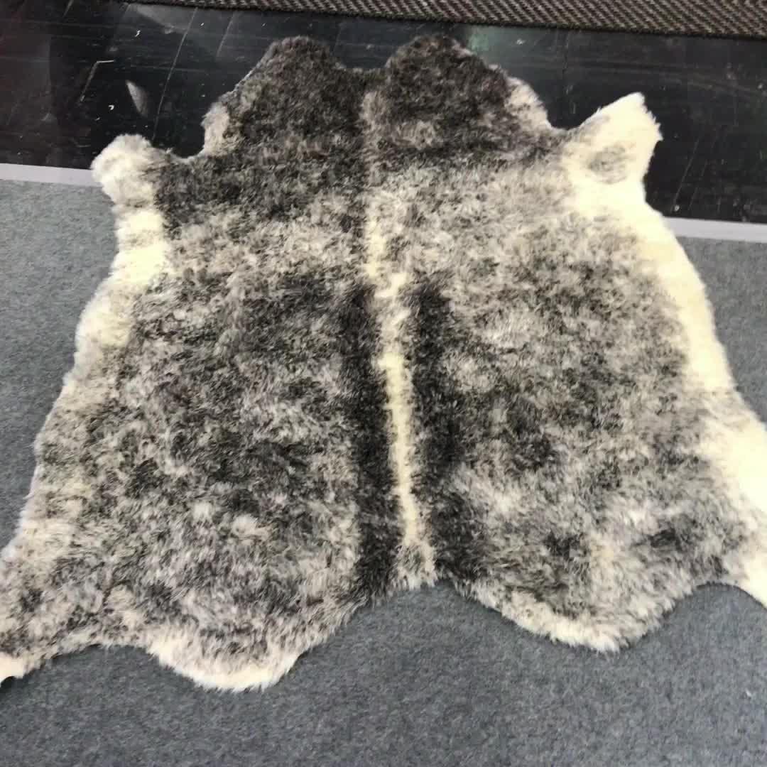 Faux fell rindsleder 4*6 füße tier gedruckt bereich teppich für hause große größe