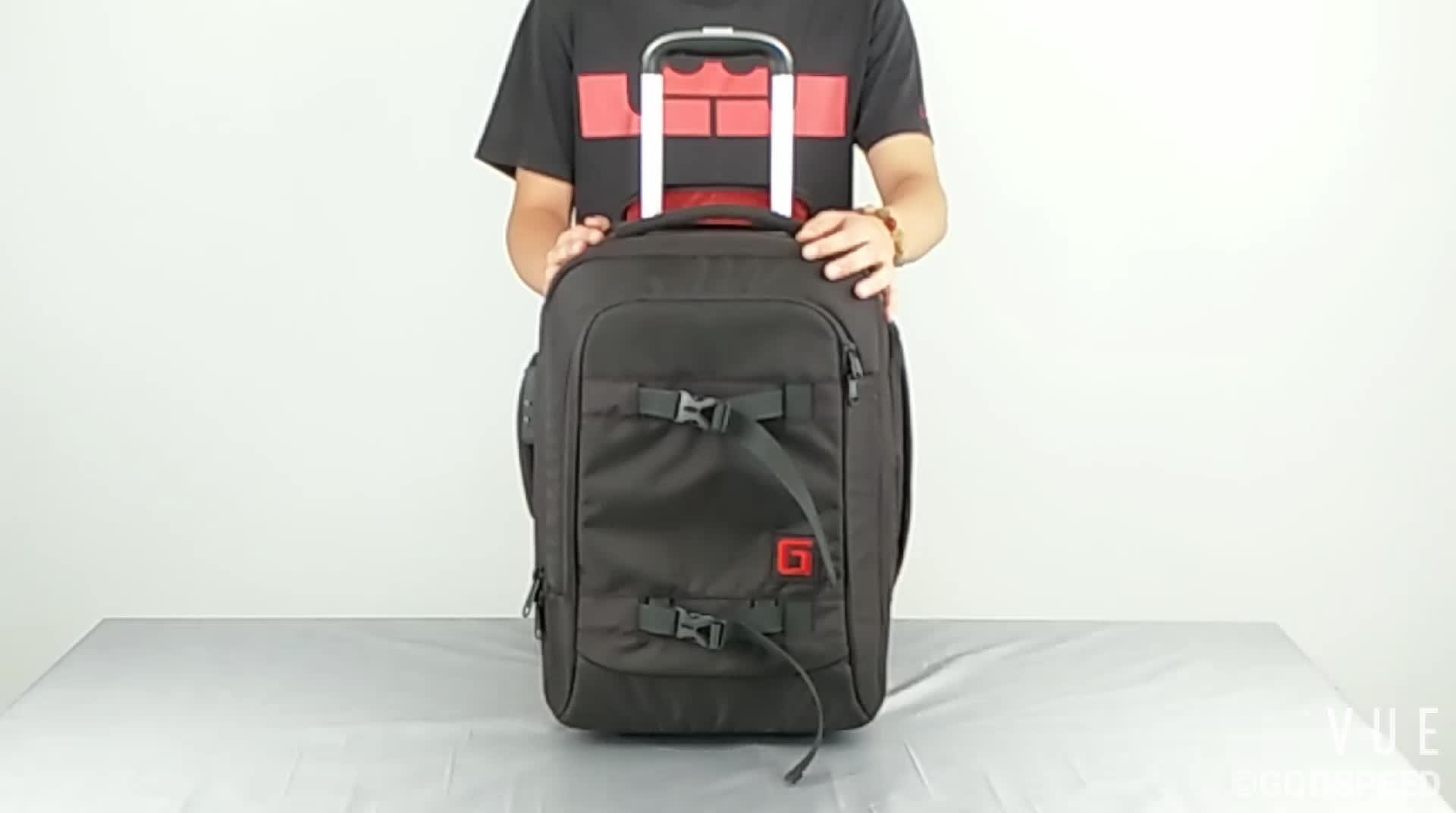 2018 Godspeed SY1516 Large Capacity Camping Trolley SLR Camera Backpack
