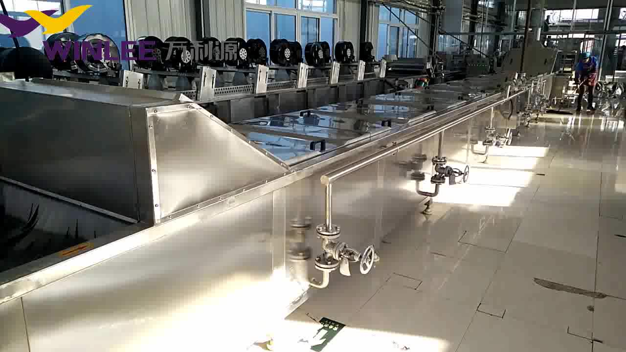Automatic steam tunnel jam / food pasteurization machine / pasteurizer