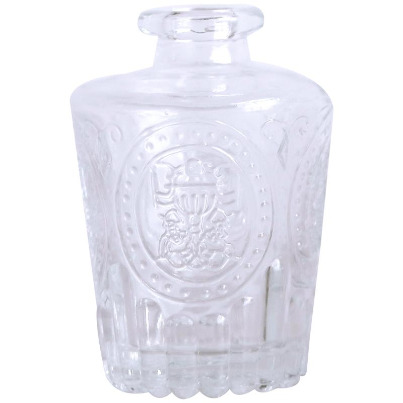鸟与花家马德里透明客厅小玻璃花瓶好不好