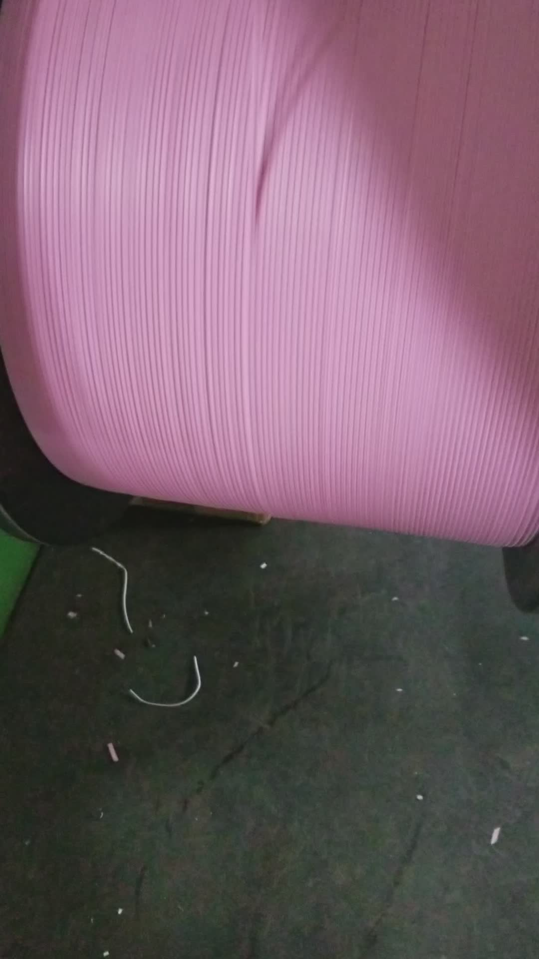 Pp cable tie clip sacchetto di pvc pre tagliato decorativo di plastica legami di torsione