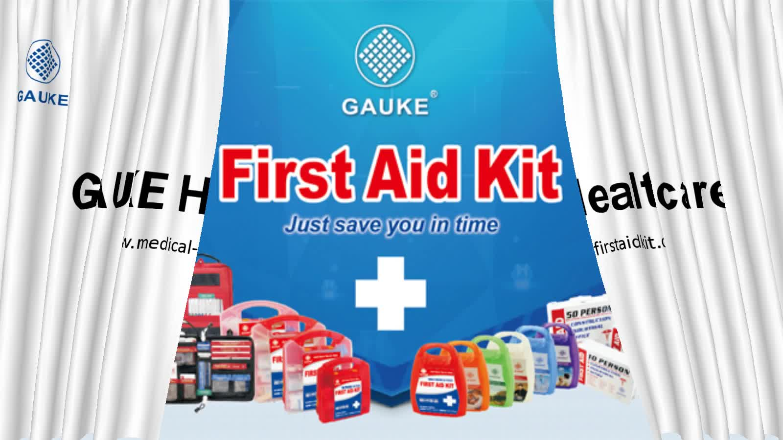 GAUKE HSE factory Industry  office first aid kit  multi purpose first aid box with several colors