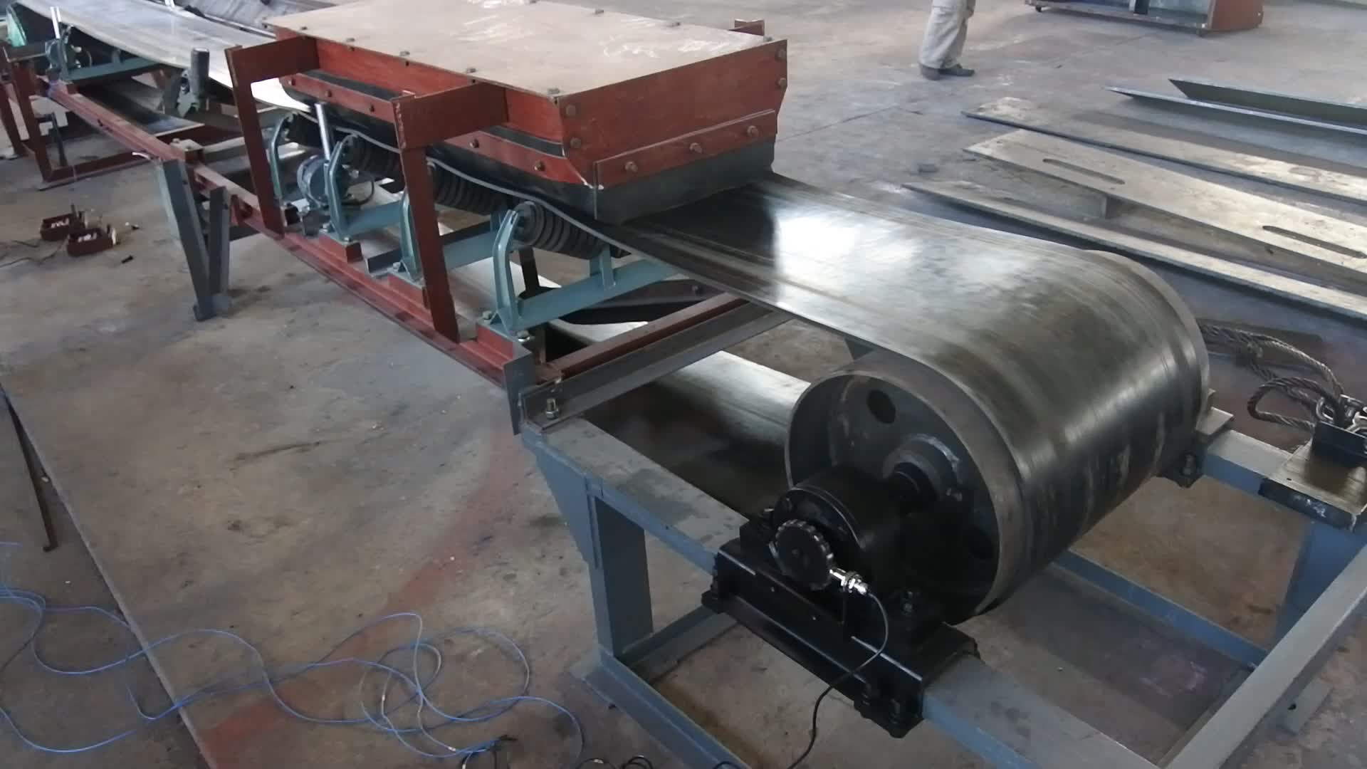 Hot Selling Portable Hopper Telescopic Belt Conveyor