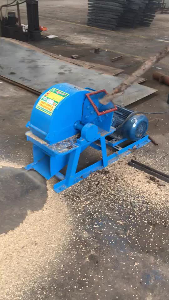 Stable performance wood sawdust wood crushing machine for sale