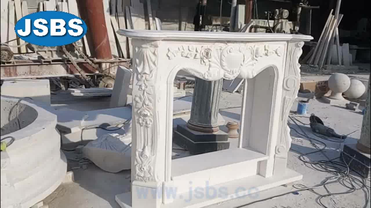 cultured marble fireplace | cheap stone fireplace | marble fireplace mantel