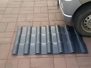 PVC hollow sheet/double corrugated roof/pvc twin wall hollow double corrugated roof