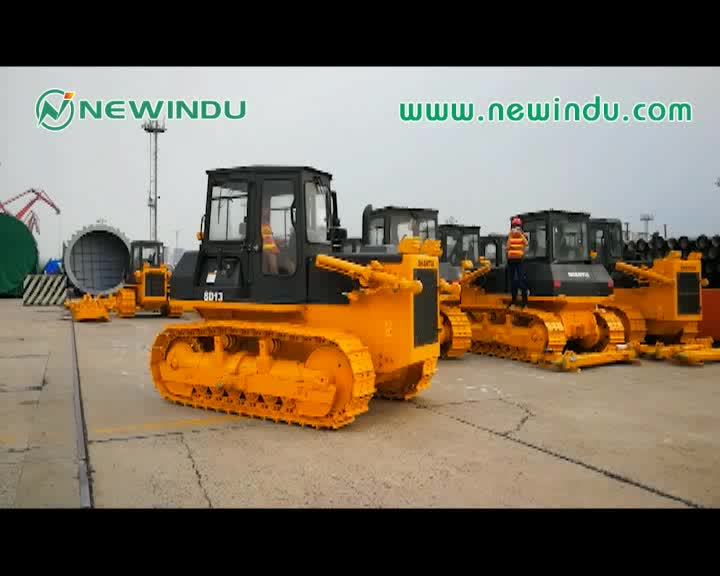 SHANTUI bulldozers for sale 130hp SD13 Standard Mini Bulldozer