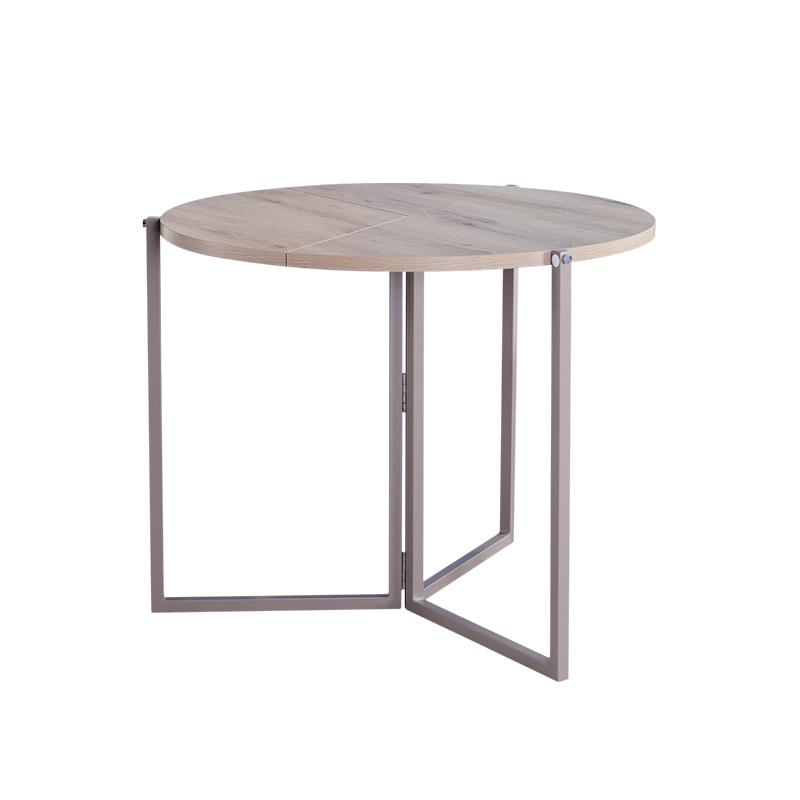 高迈登折叠小户型家用小圆桌小饭桌值得买吗