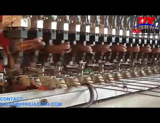 Construction Automatic Welded Wire Mesh Fence Panels Making Machine