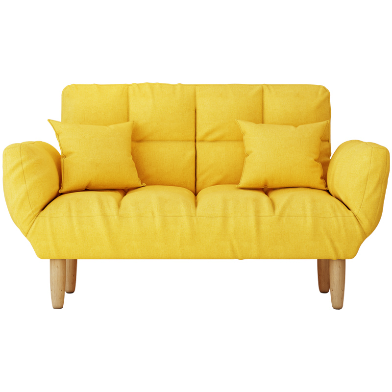 网红小户型客厅懒人出租房简易沙发质量怎么样