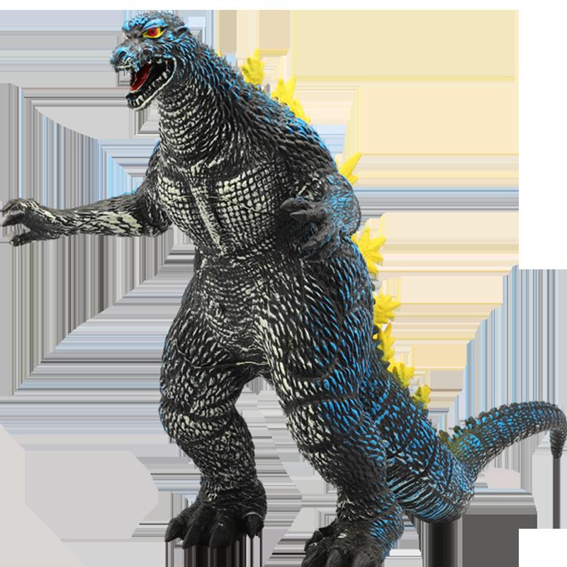 玩模乐仿真软胶大号奥特曼怪兽哥斯拉恐龙玩具儿童搪胶玩具男孩礼