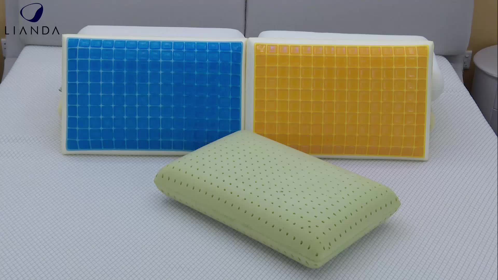 New Design Wholesale Cooling Summer Private Label Memory Foam Cool Gel Pillow Pad Manufacturer