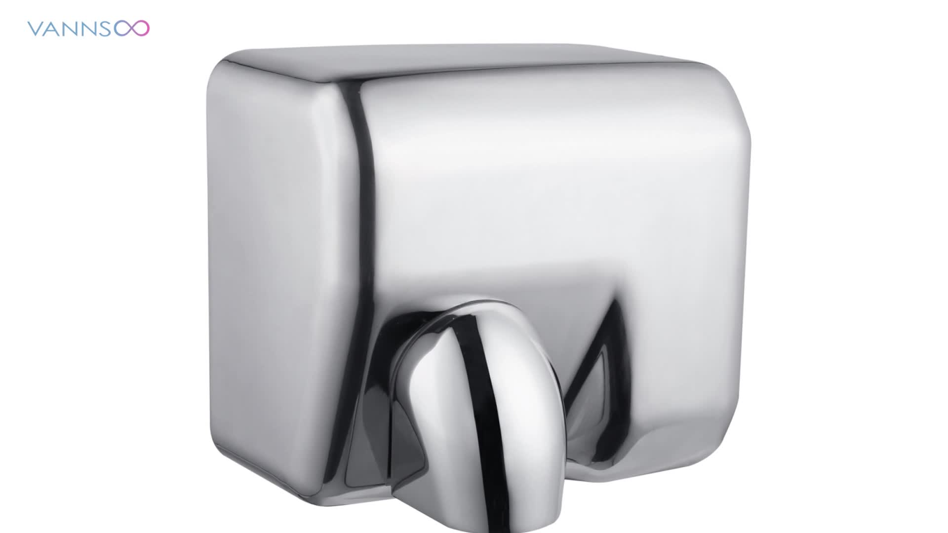 Bathroom Stainless Steel Electric Hand Dryer for Toliet