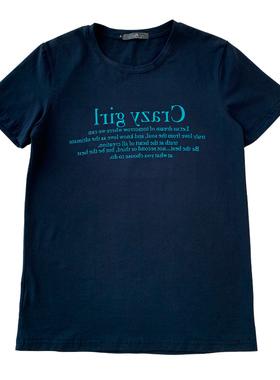 COCO大码女装夏新款时尚英文印花短袖胖妹妹韩版百搭显瘦圆领T恤